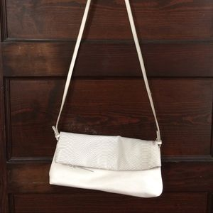 The Limited White Crossbody Bag
